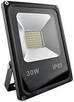 Прожектор LED-SLe- 30W 220В 2400lm 6500K кут 120 Slim Elite