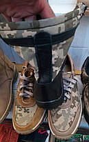 Берцы облегченные кожаные (кордура Пиксель), фото 2