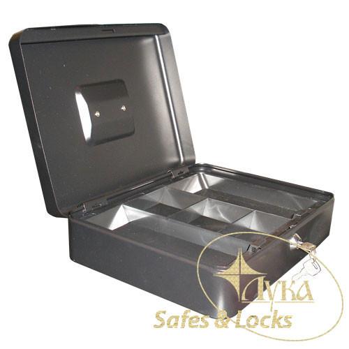 Металева коробка - кешбокс TS 0010