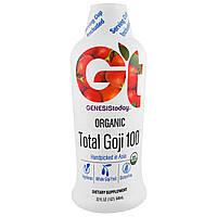 Genesis Today, Organic Total Goji 100, 946 мл