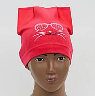 Весенняя шапочка  на девочку
