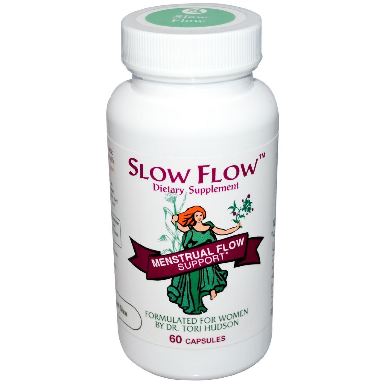 Vitanica, Slow Flow, препарат для приема во время менструального цикла, 60 капсул - ⭐FREELIFE интернет-магазин натуральных препаратов для здоровья №➀ в Украине⭐ в Киеве