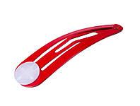 Заколки для волос (48mm) красные 10 шт.уп
