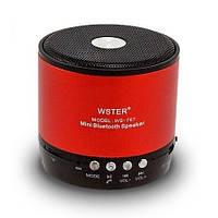 Портативная bluetooth колонка WSTER WS-767 (Bluetooth, MP3 плеер, FM радио), фото 1