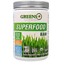 Greens Plus, Органический сырой суперпродукт, 8.46 унций (240 г)