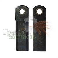 Нож соломоизмельчителя подвижный со втулкой CASE, 60-0170-09-02-0