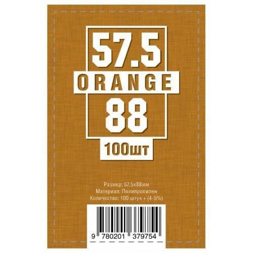 Протекторы для карт 100 шт. (57,5 х 88 мм)