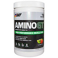 GAT, Амино ГТ, Высокоэффективное топливо для мускулов, Клубника и киви, 13.76 унций (390 г)