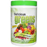 Greens World, Восхитительная зелень 8000, порошок, 300 г