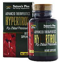 Nature's Plus, Advanced Therapeutics Hypertrol для кровяного давления, 60 таблеток