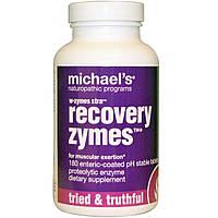 Michael's Naturopathic, W-Zymes Xtra, восстановительные ферменты, 180 таблеток, покрытых кишечнорастворимой оболочкой