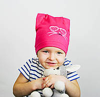 Шапочка малиновая для девочек