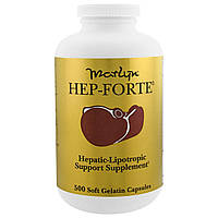 Naturally Vitamins, Marlyn, средство для печени Hep-Forte, 500 желатиновых капсул