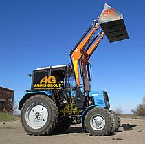 Погрузчик Фронтальный Быстросъёмный НТ-4М КУН на МТЗ с ковшом 1,3, фото 2