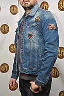 Мужская куртка  с нашивками Republic 4779