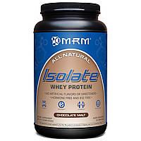 MRM, Изолят сывороточного протеина, шоколадный солод, 2,03 фунта (922 г)