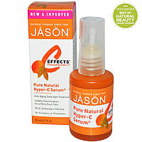 Jason Natural, C-Effects, Сыворотка с повышенной концентрацией витамина C, Средство против возрастных пятен для ежедневного применения, 1 жидкая унция