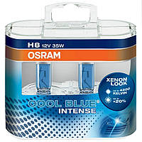 Автолампы Osram Cool Blue Intense H8 +20% 4200k