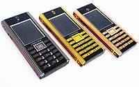 Стильный кнопочный мобильный телефон Cartier Patek Philippe копия 2 сим металлический корпус