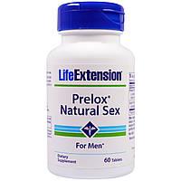 Life Extension, Prelox, естественный секс для мужчин, 60 таблеток