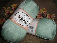 Nako Solare (Нако Соларе) 20331 мятный 100 % египетский хлопок