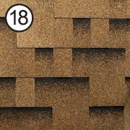 Битумная черепица Roofshield Premium Модерн 18 песочная