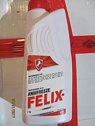 Антифриз 1л FELIX CARB t-40 (красный) тосол
