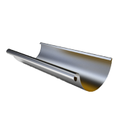 Металлический желоб Roofart Prelaq L=3м Ø125/87