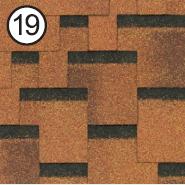 Битумная черепица Roofshield Premium Модерн 19 миндальная