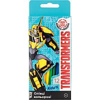 Карандаши цветные KITE Transformers TF17-051 (12 цветов)