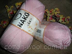Nako Solare (Нако Соларе) 4857 розовый 100 % египетский хлопок
