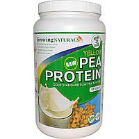 Growing Naturals, Протеин из желтого гороха, оригинальный, 32,2 унции (912 г)