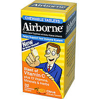 AirBorne, Chewable Tablets, Citrus, 32 Tablets