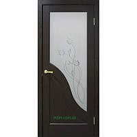 Двери Габриэлла ПВХ СС+КР венге, фото 1