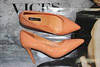 Женские туфли лодочки на шпильке 8см.