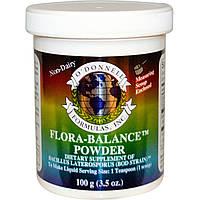 O'Donnell Formulas, Flora Balance, Пробиотик Флора-баланс в порошке, 3.5 унции (100 г)