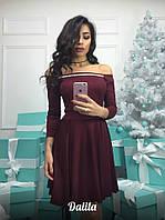 Женское платье из дайвинга
