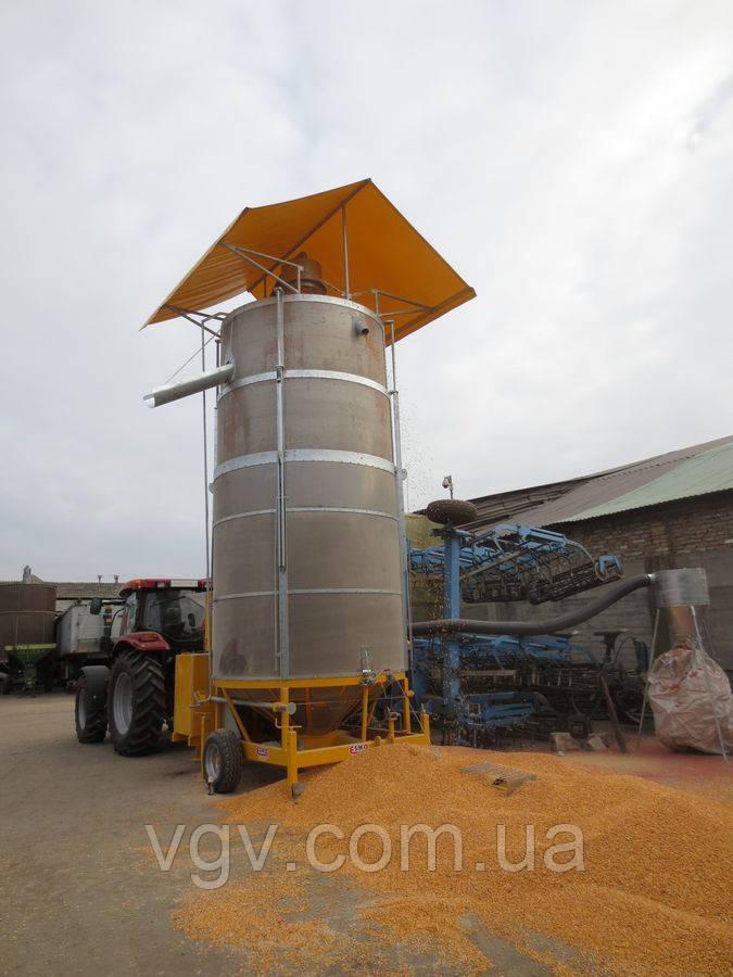 Зерносушилка мобильная ESMA SMALL ES90F, фото 1