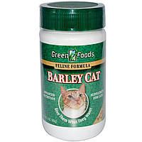Green Foods Corporation, Порошок из зеленых побегов ячменя для кошек Barley Cat, 3 унции (85 г)