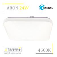 Светодиодный светильник ARON 24W S-1601 4000-4500K 2200Lm (накладной LED типа Leggera GB-S)