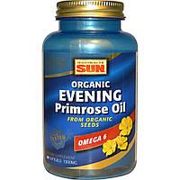 Health From The Sun, Organic, масло примулы вечерней, 1300 мг, 60 желатиновых капсул
