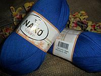 Nako Solare (Нако Соларе) 3265 ультра-синий 100 % египетский хлопок