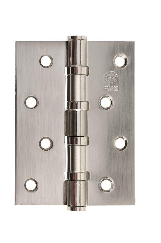 Петля стальная универсальная Gavroche gr 100*75*2.5мм B4 ni (никель)
