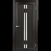 """Двери межкомнатные Корфад """"VL-05 ПО сатин"""" Венге, 700, Экошпон, массив сосновых пород, Распашная"""