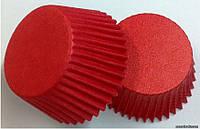 Форма бумажная для конфет 1000 шт Красная 3см