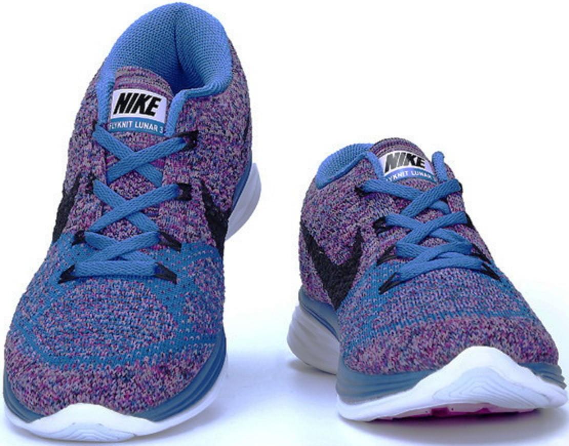 official photos c7c04 06e8a Кроссовки женские Nike Flyknit Lunar 3 Violet Blue - ТЕХНОЛЮКС в Запорожье