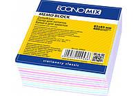 Бумага для заметок проклеенная Economix, ассорти, 85х85, 400 л.