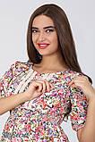 Платье для беременных и кормящих Tamana DR-27.112, мелкие цветы, фото 3