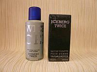 Iceberg- Iceberg Twice For Men (1995)- Дезодорант-спрей  200 мл-Старый дизайн,старая формула аромата 1995 года