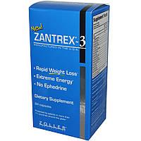 Zoller Laboratories, Средство для быстрого снижения веса Zantrex-3, 84 капсулы